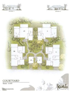 The Cottages: floor plan